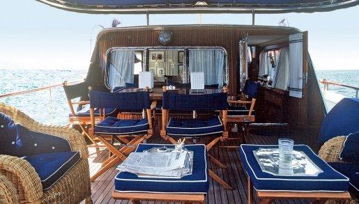 © FOTO BSK Delfino, Yacht Interior