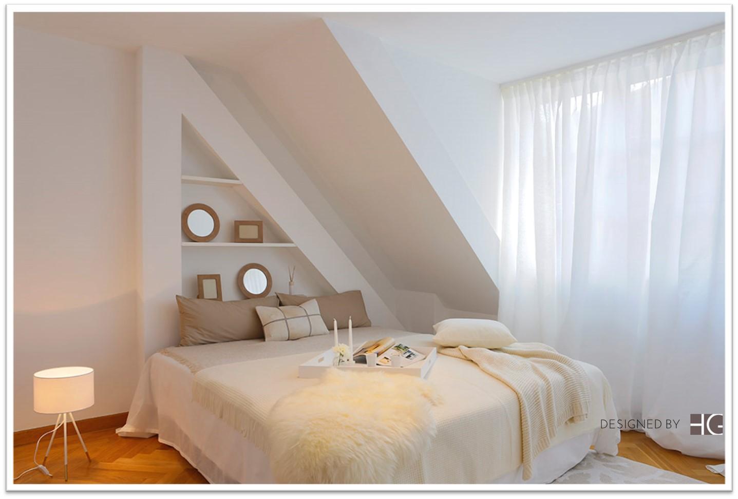 Schlafzimmer home staging Gestaltung