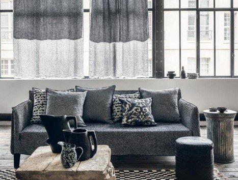 Blog-Vorhang-Gestaltung