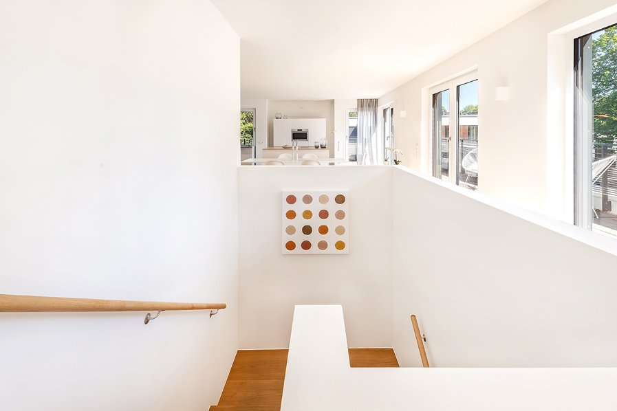 Penthouse-Wohnung-Treppe