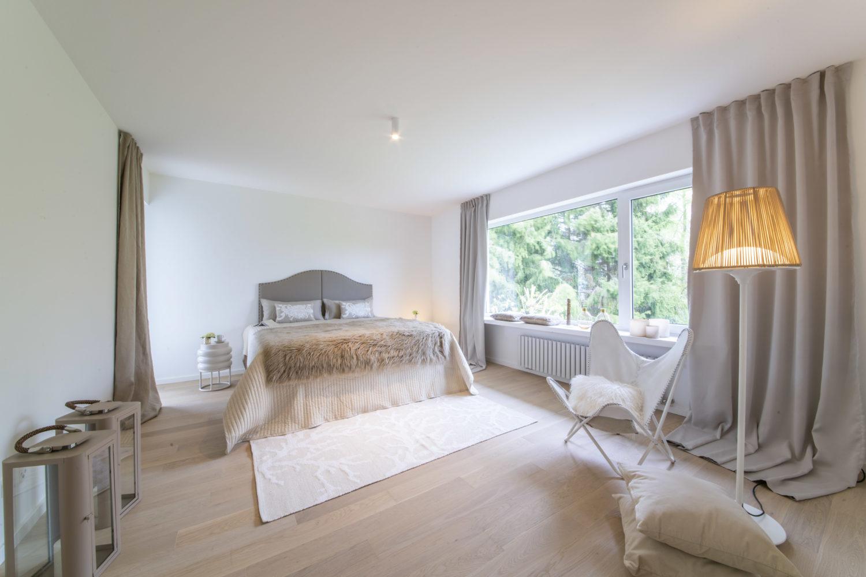 homestaging Schlafzimmer nachher in Starnberg