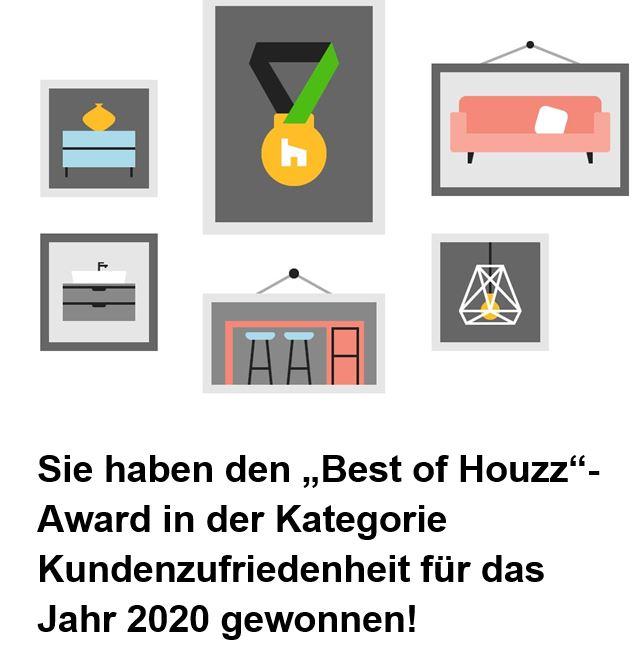 houzz award 2020 Auszeichung der houzz community