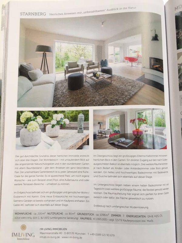 home staging Projekt wird in Streifzug Magazin veroeffentlicht