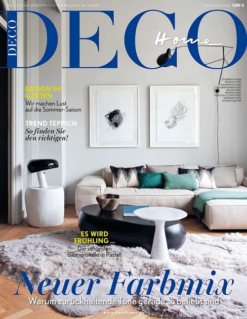 DECO HOME Wohnzeitschrift Mai Ausgabe 2020