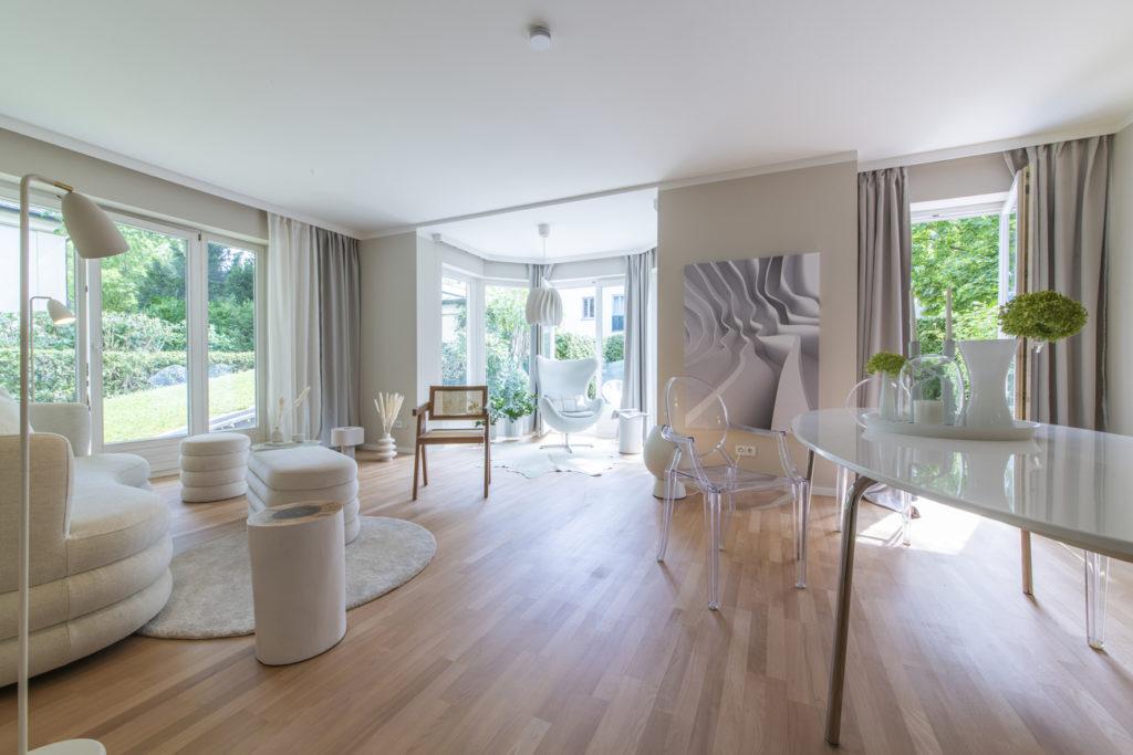 homestaging Gestaltung Mix aus klassisch-modern