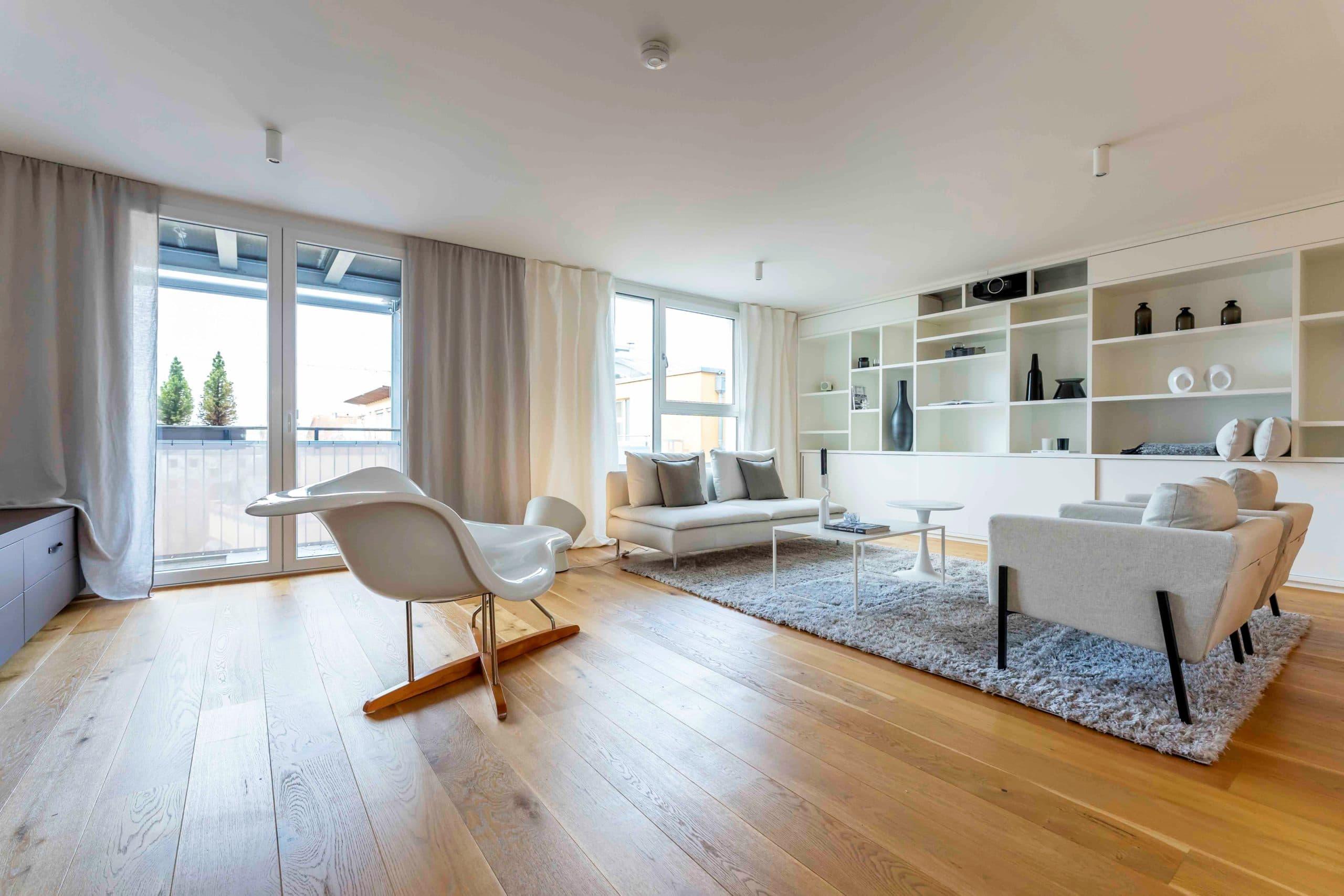 home staging für großzügige Mietwohnung in München